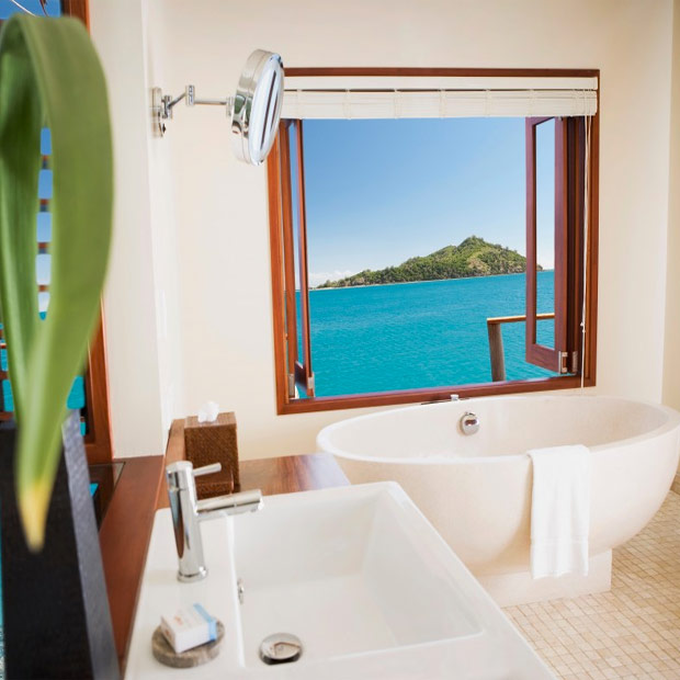 Likuliku Lagoon Resort lodge
