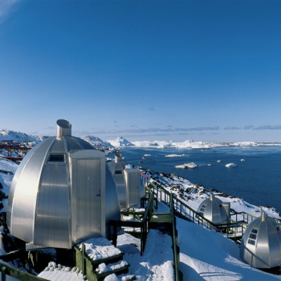Hotel Arctic lodge au groenland