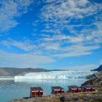 Glacier Lodge Eqi groenland