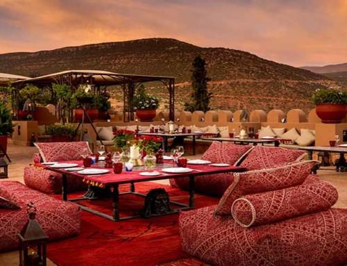 A découvrir Ecolodge luxueux au Maroc